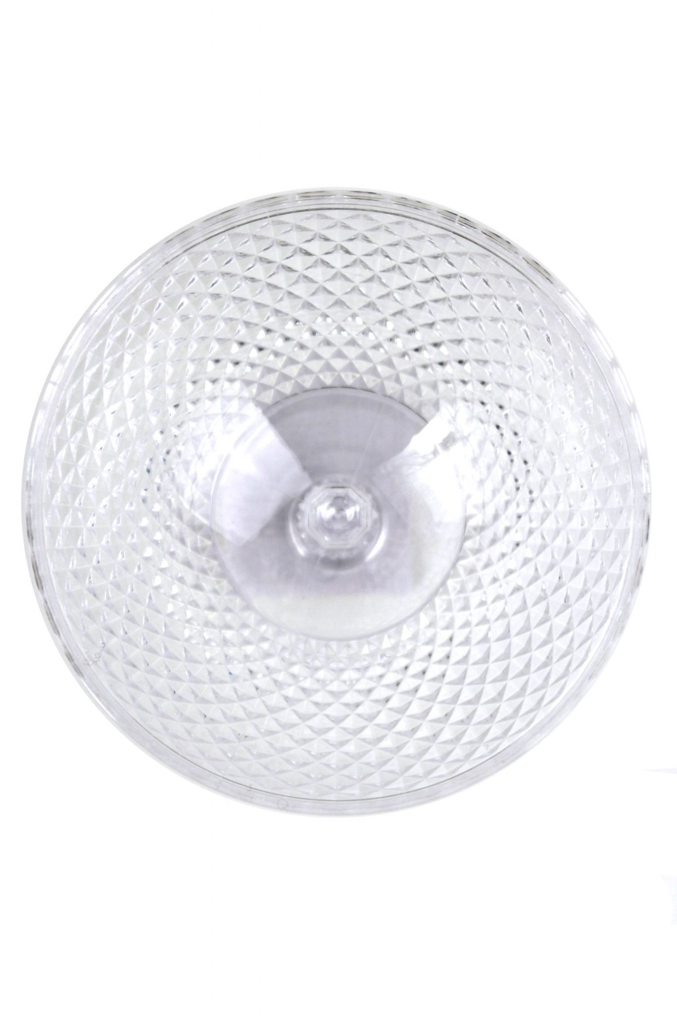 Crystal Effect Plastic Party Picnic Bowls Coloured Dessert